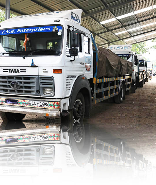 Distribution and delivery trucks of steel and iron products to any place of Sri Lanka